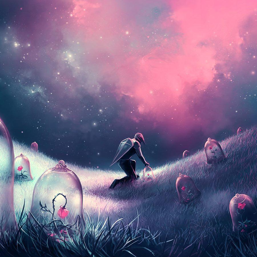 梦幻与现实的狂想!超现实主义插画