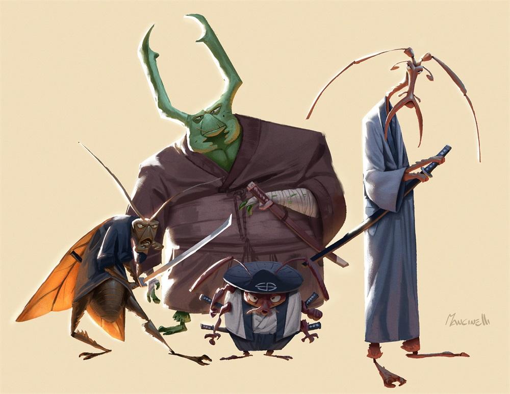 动画影视剧集中的角色设计