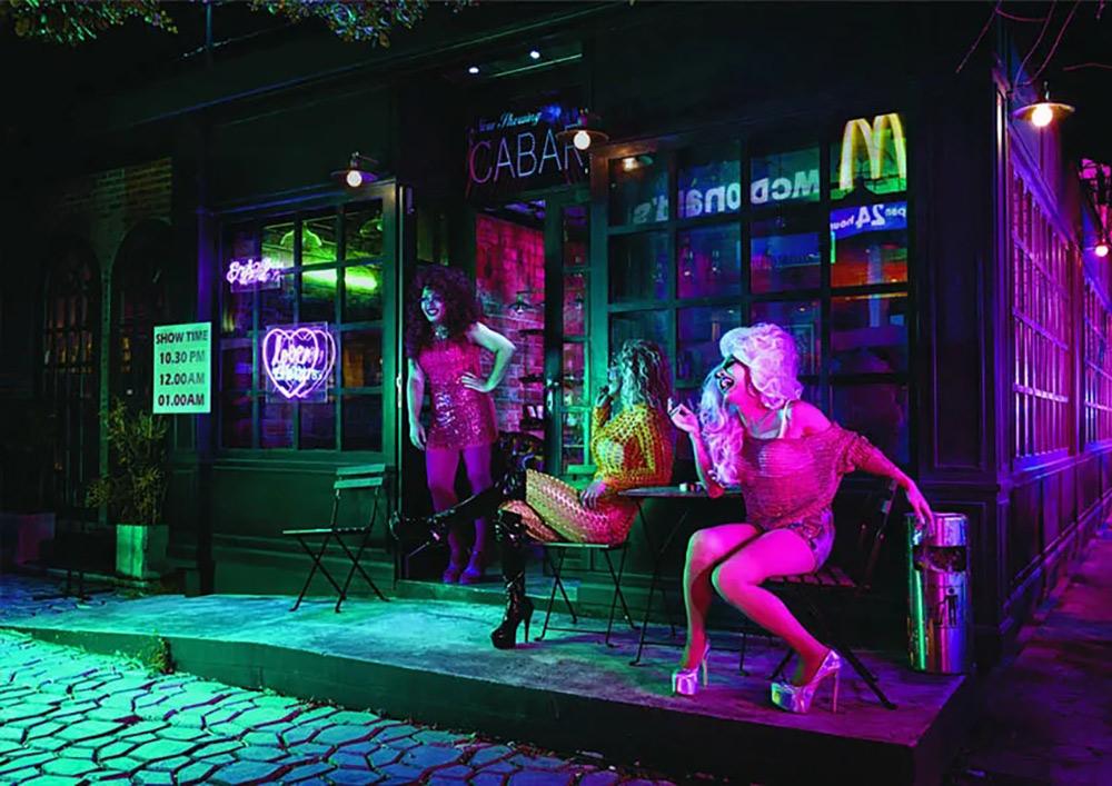 麦当劳Open late系列广告海报