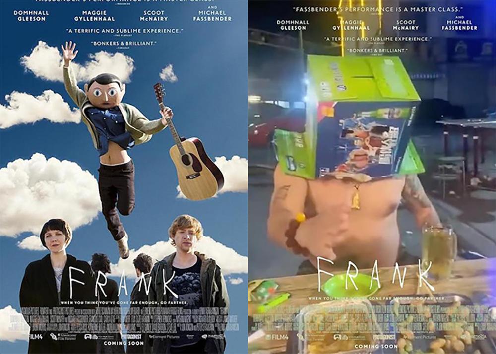 豆瓣话题「用现实场景创作一幅电影海报」部分作品