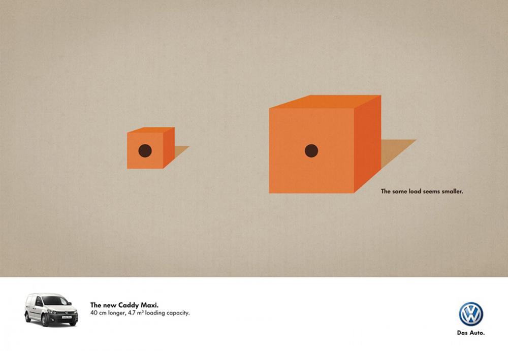 简约不简单!12张大众汽车广告海报设计