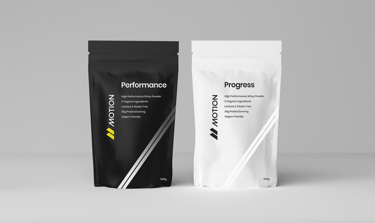 能量感!运动食品品牌VI设计