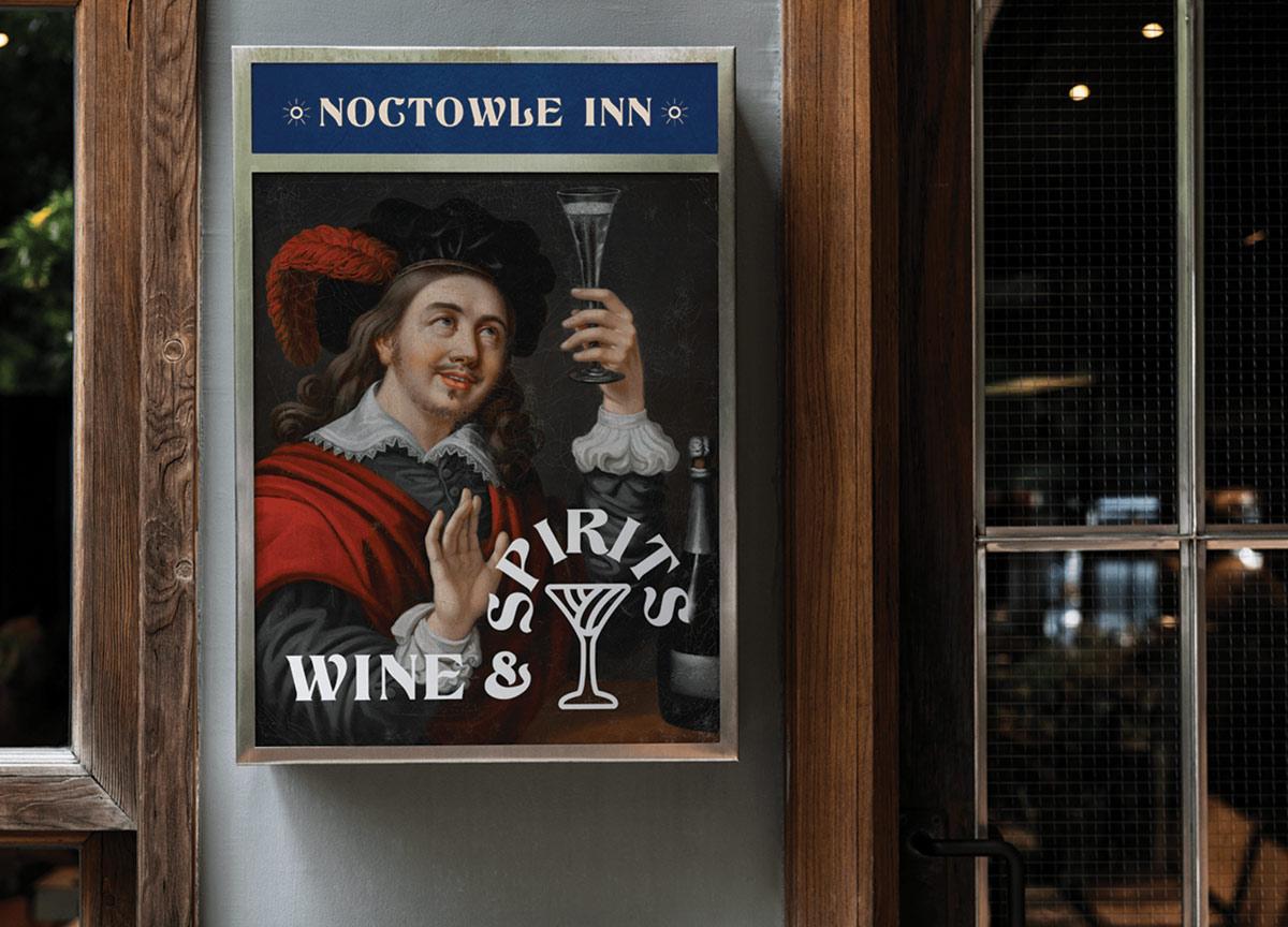 宁静现代!旅馆酒吧品牌VI设计