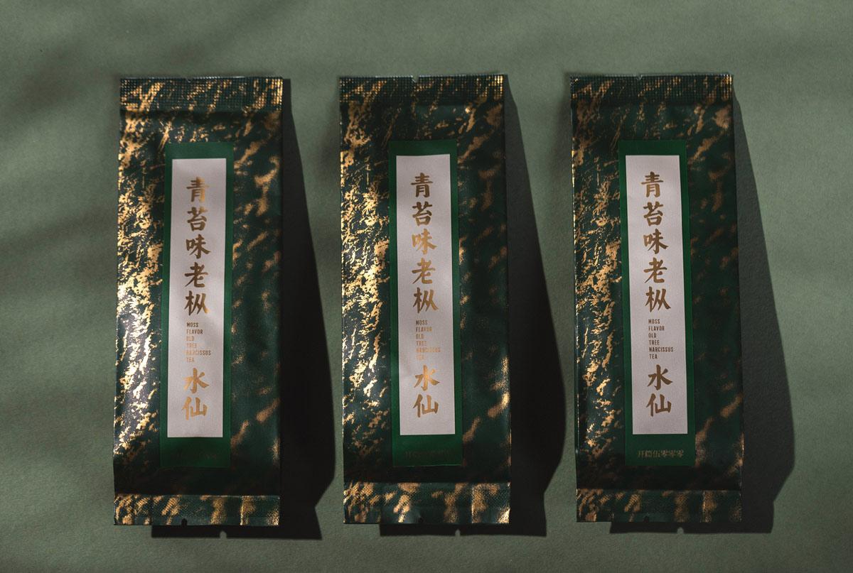 质朴古典!茶叶包装设计