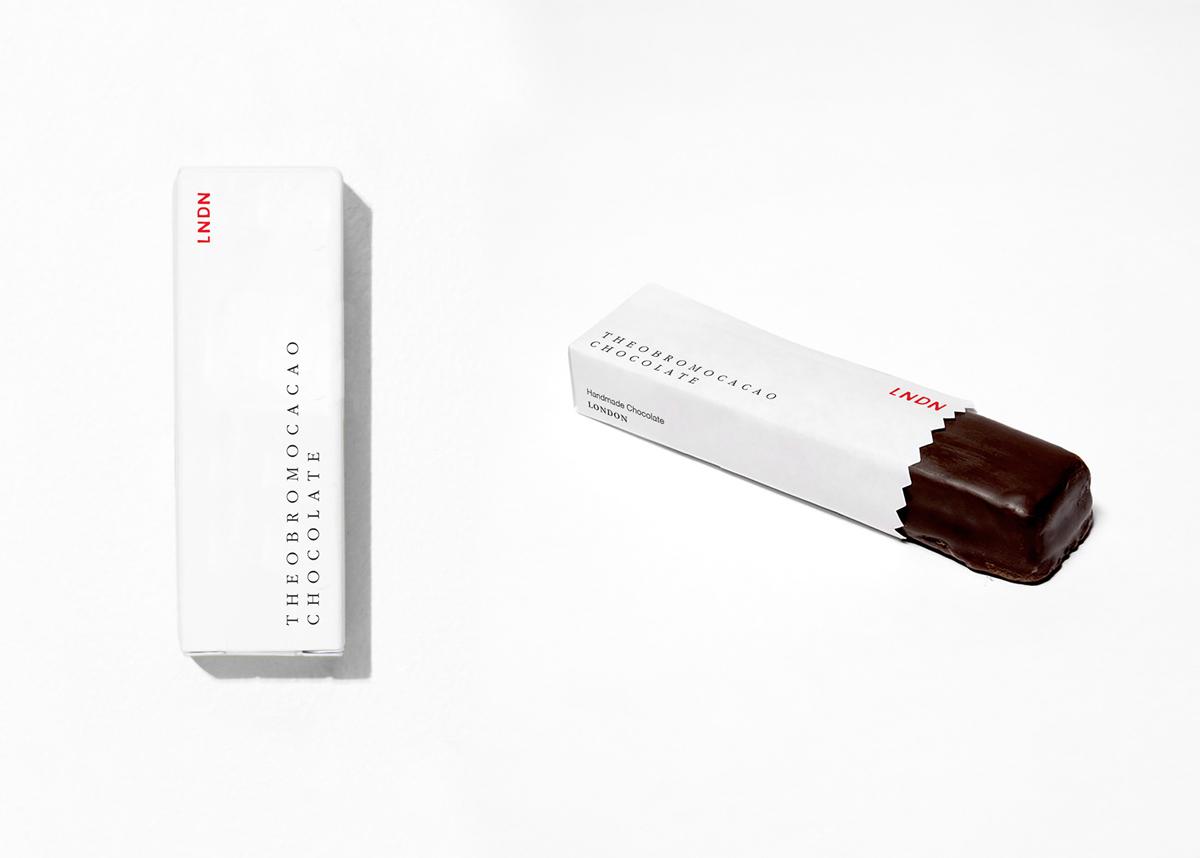 极简白色!巧克力包装设计
