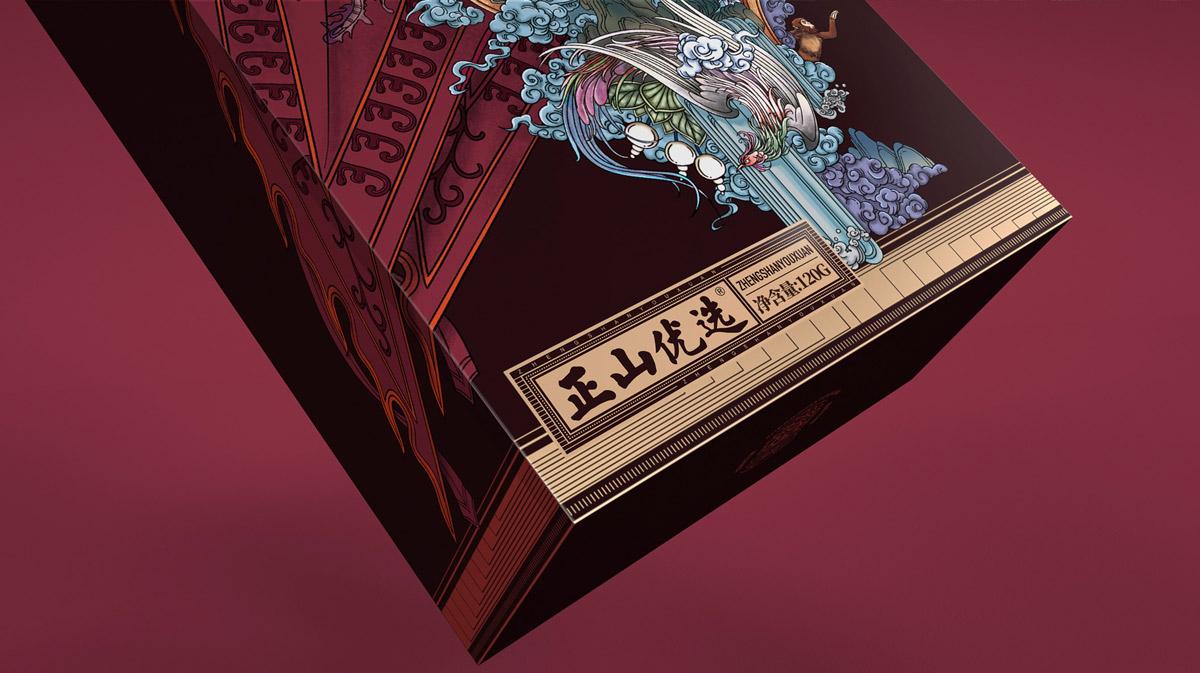 京剧国粹!茶叶包装设计