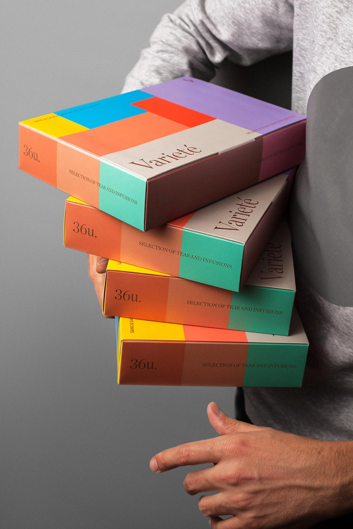 艺术色彩!茶叶包装设计