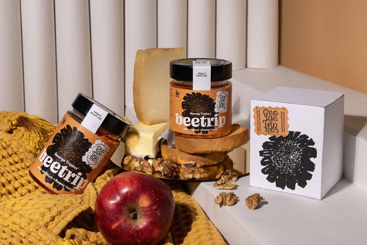 植物感!蜂蜜包装设计