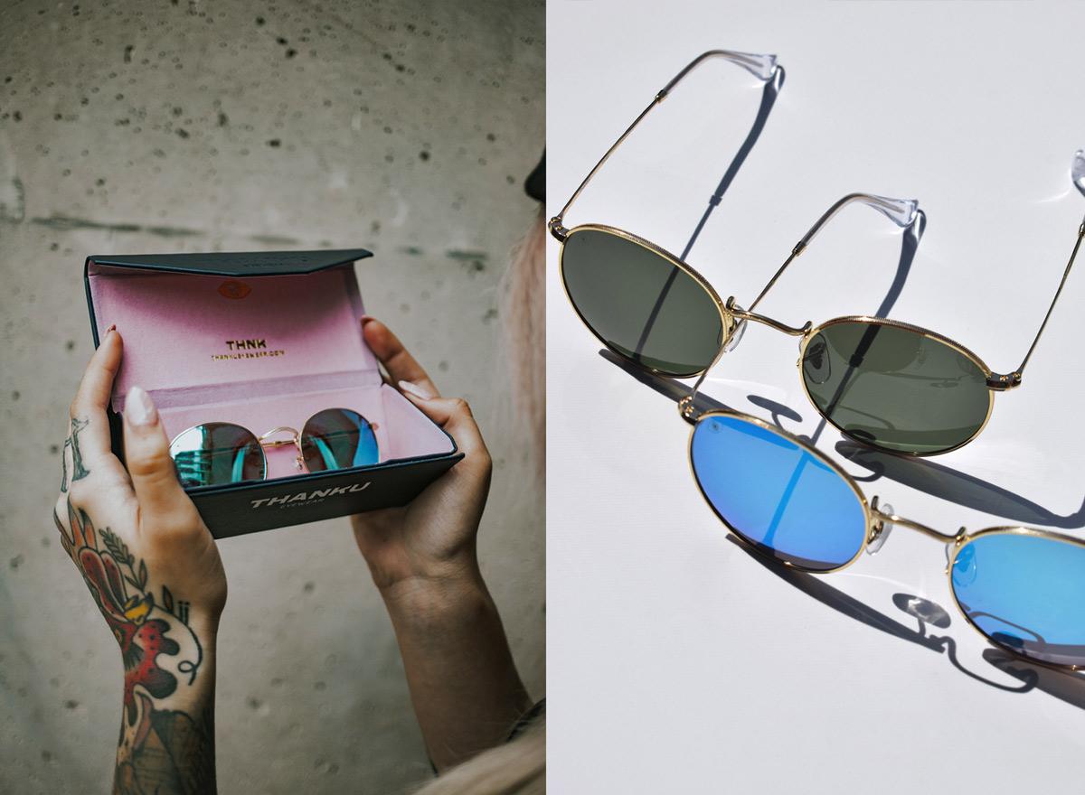 复古潮流!眼镜品牌VI设计