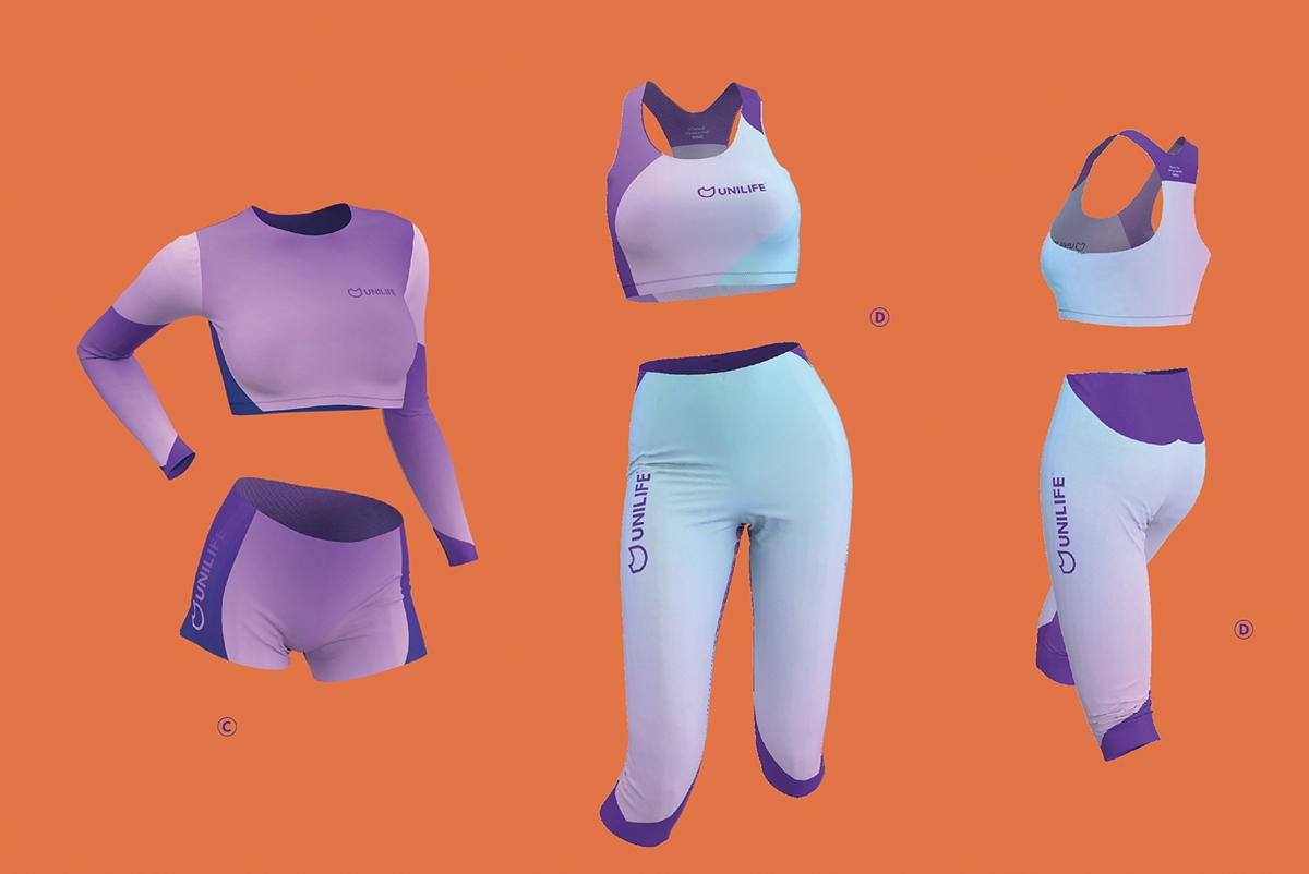 时尚潮流!运动时尚品牌VI设计