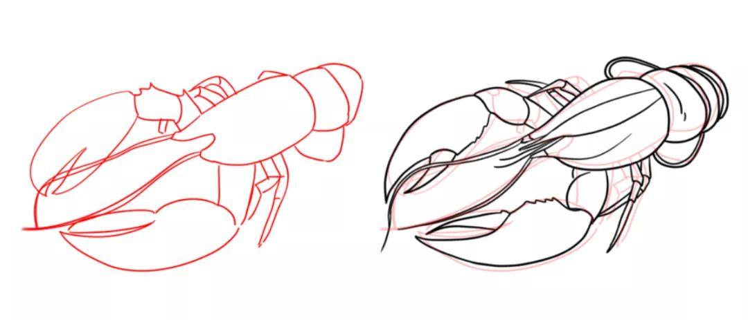 手绘教程!6步带你完成诱人国风美食插画!