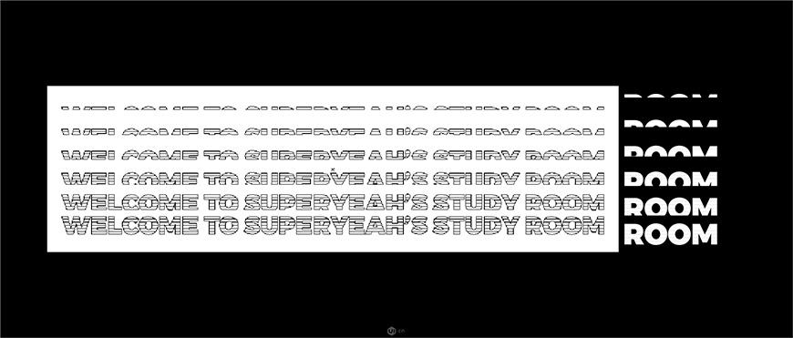 AI教程!手把手带你解构堆叠扭曲文字!