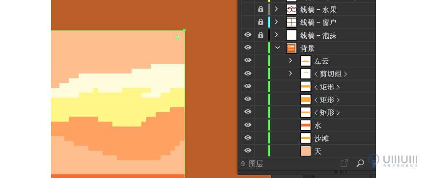 AI教程!教你绘制像素风格温馨场景插画!