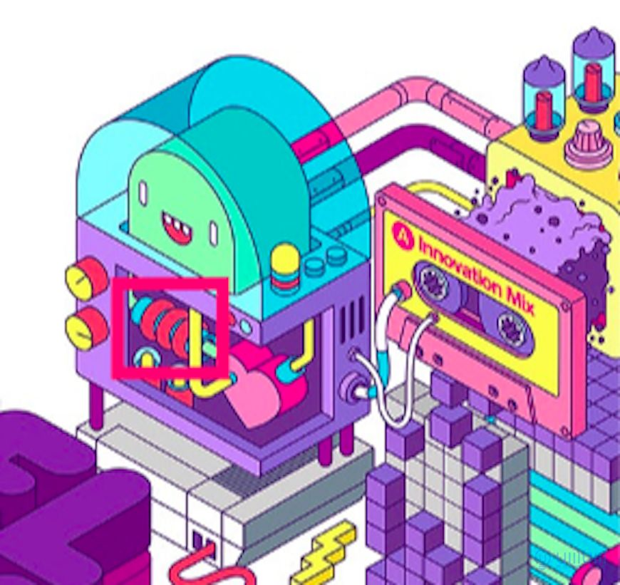 AI教程!科技感满满的2.5D机器人插画!