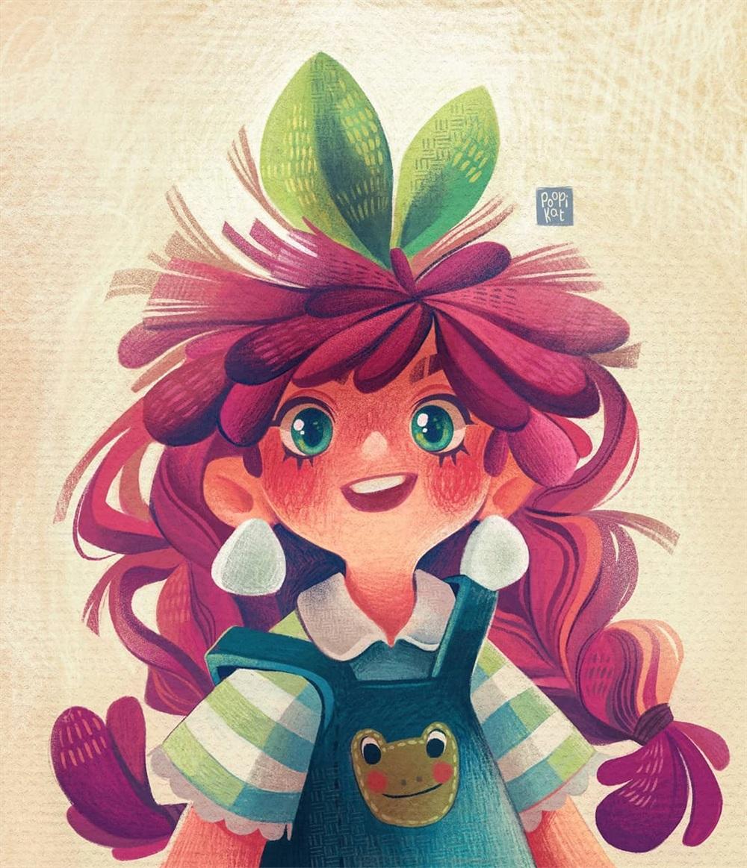 可爱吸睛!14张儿童绘本插图