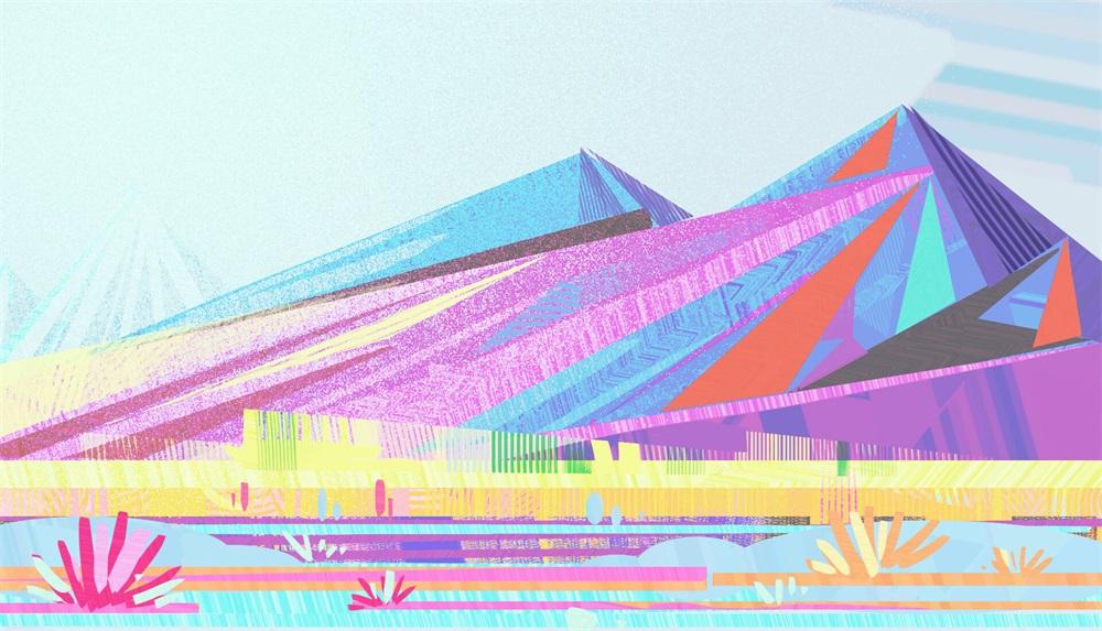 缤纷色彩!12款梦幻景观插图