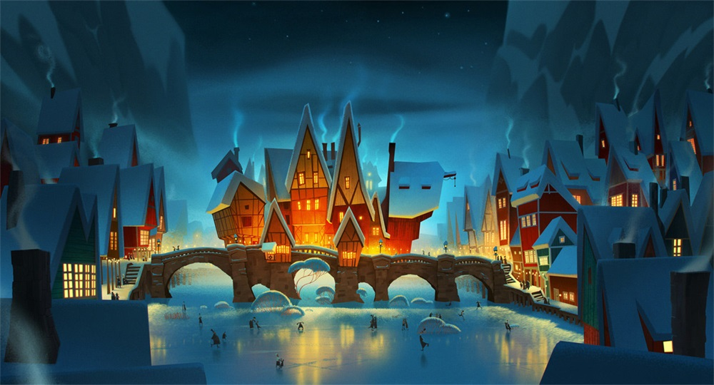 14款充满童话故事感的概念插画