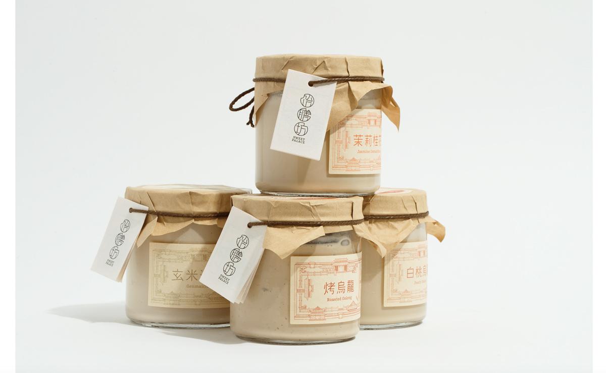 东方古典!甜品品牌VI设计
