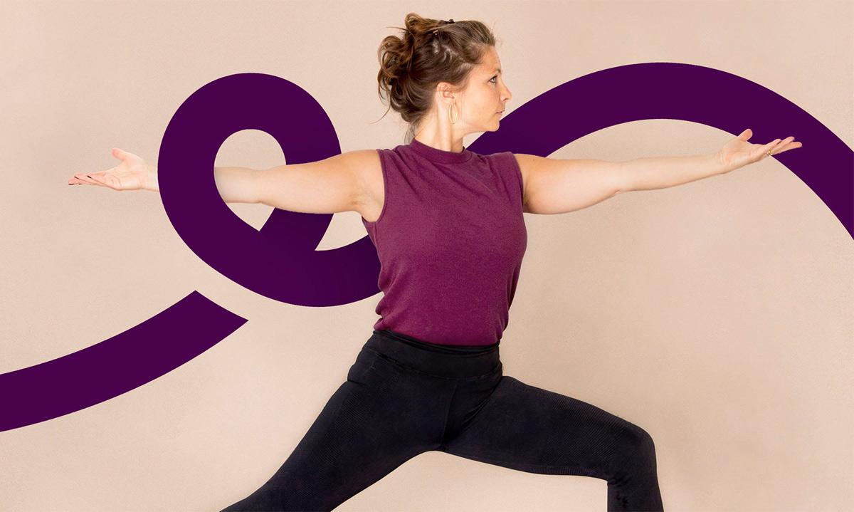 灵活流畅!瑜伽品牌VI设计