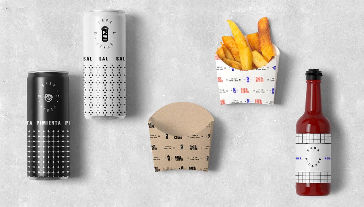 现代干净!餐厅品牌VI设计