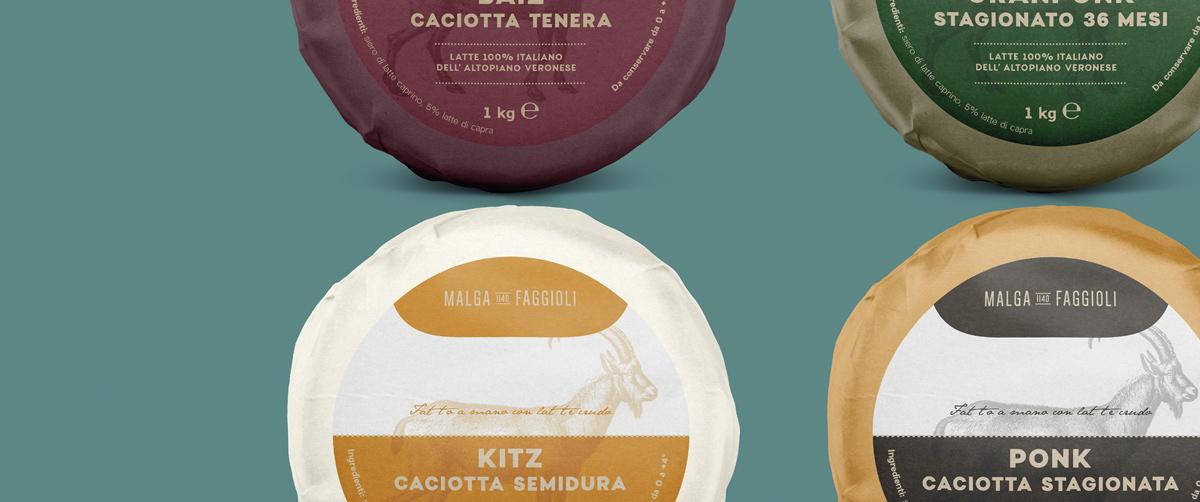 天然健康!奶类食品包装设计