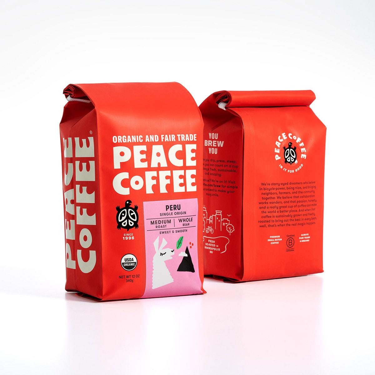 鲜明红色!咖啡品牌包装设计