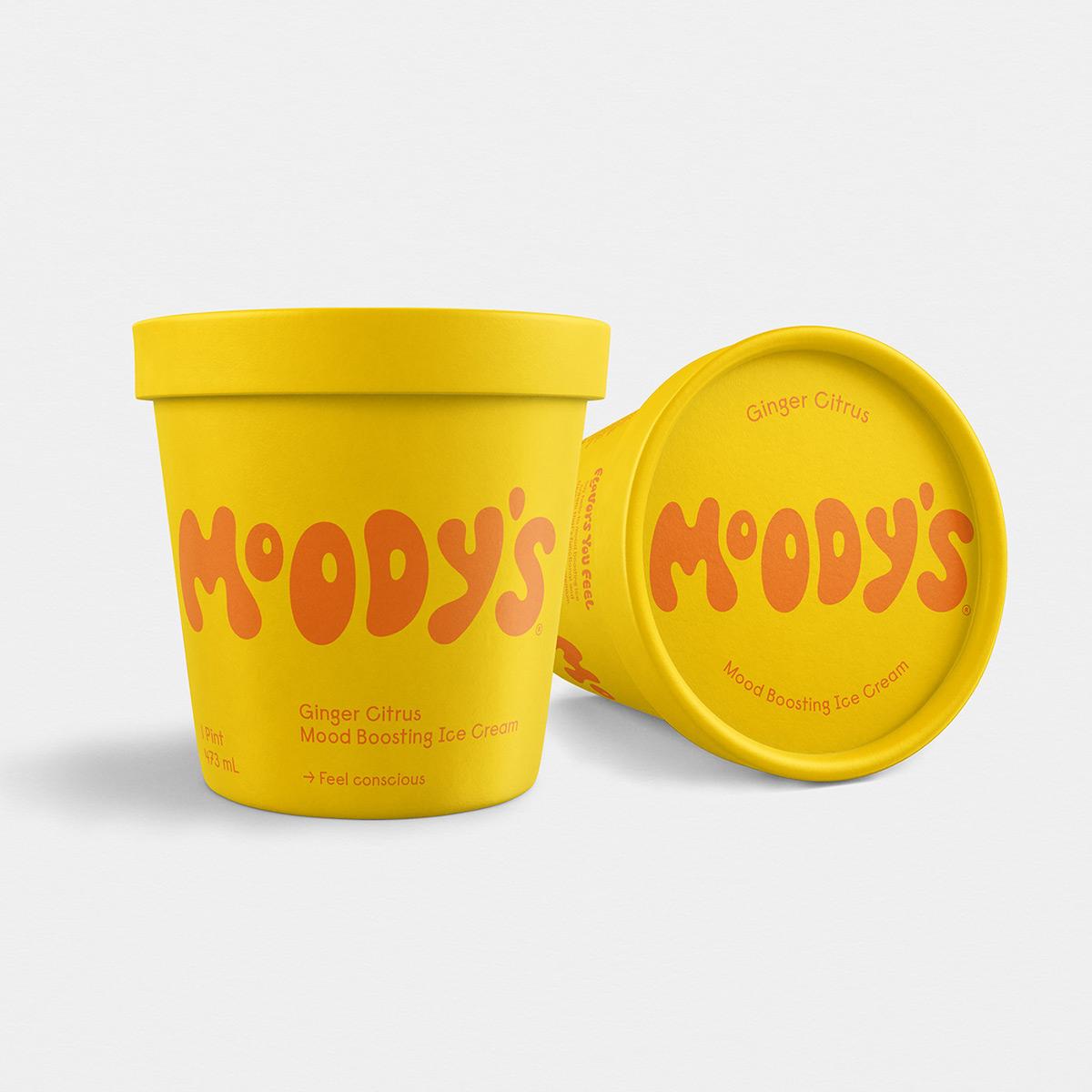 开心的色彩!冰淇淋包装设计