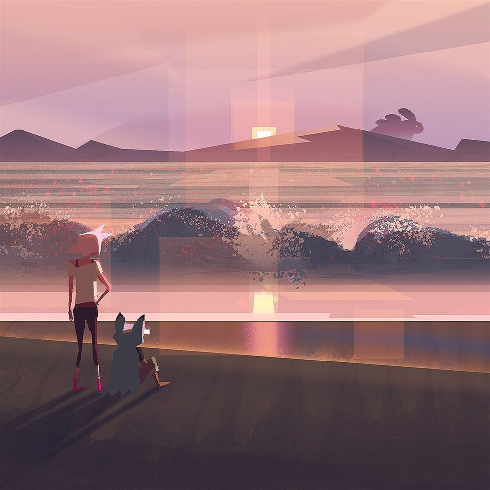 光里的故事!10款生活场景插图