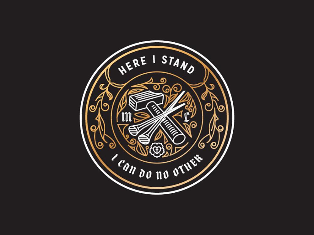 精致线条!20款细腻徽章Logo设计
