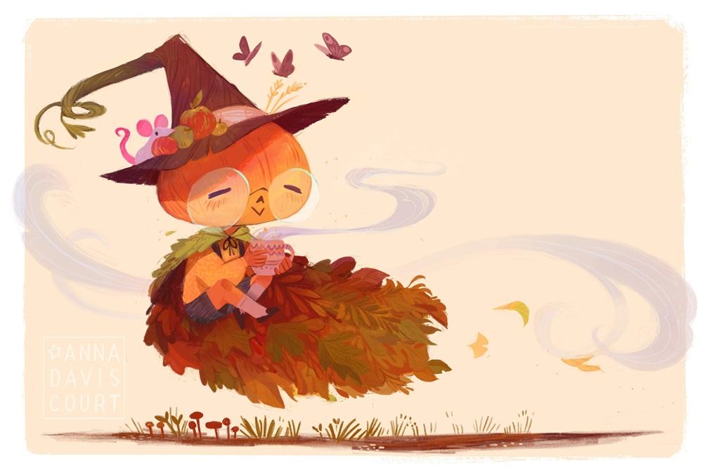 9款清新可爱的儿童插画
