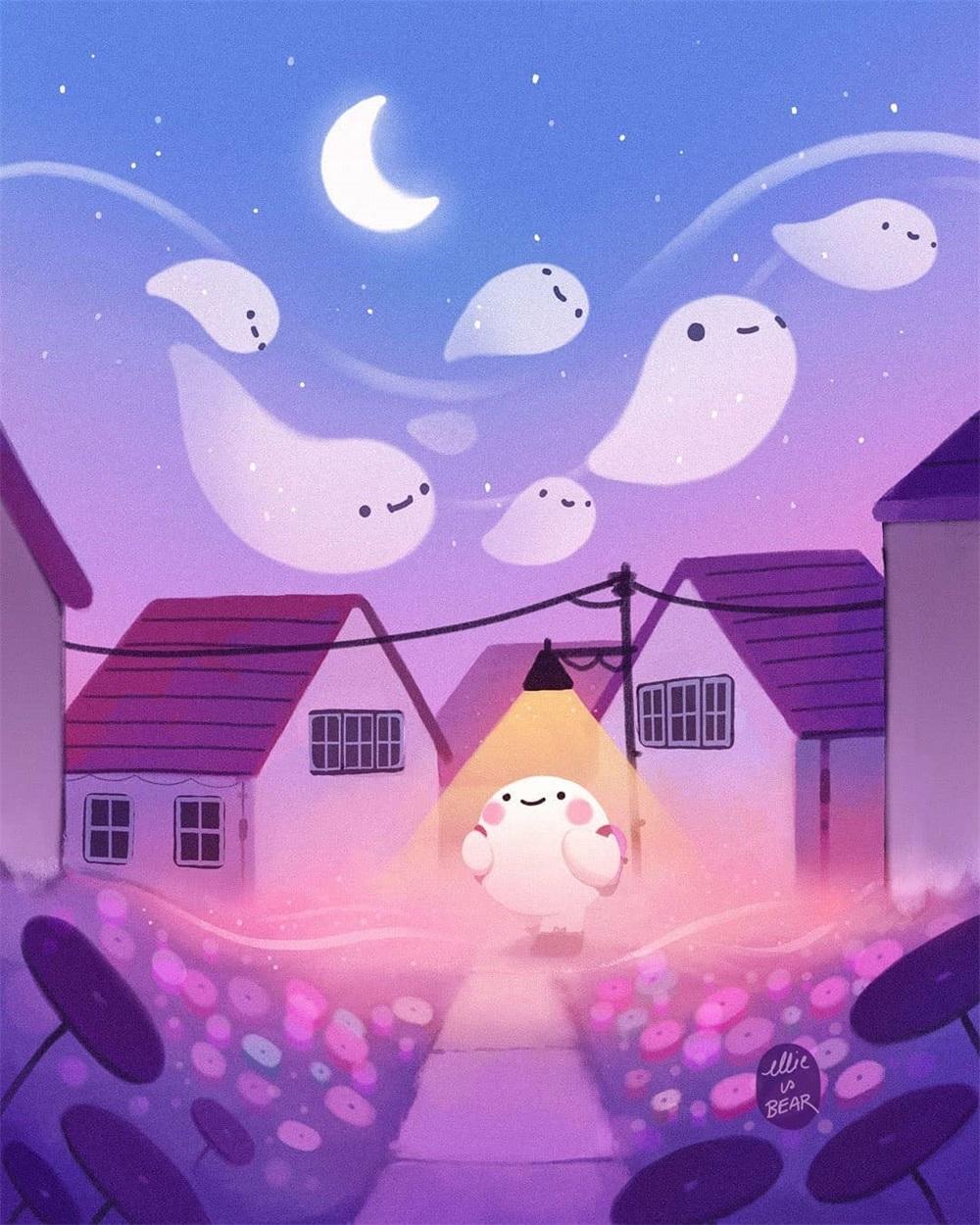 20款萌到融化的儿童插画