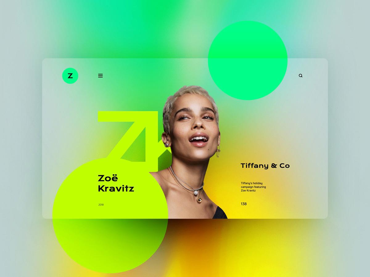 个性化!12组创意十足的网页设计