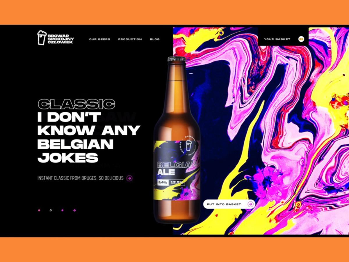 气质碰撞!12组不同酒类的网页设计