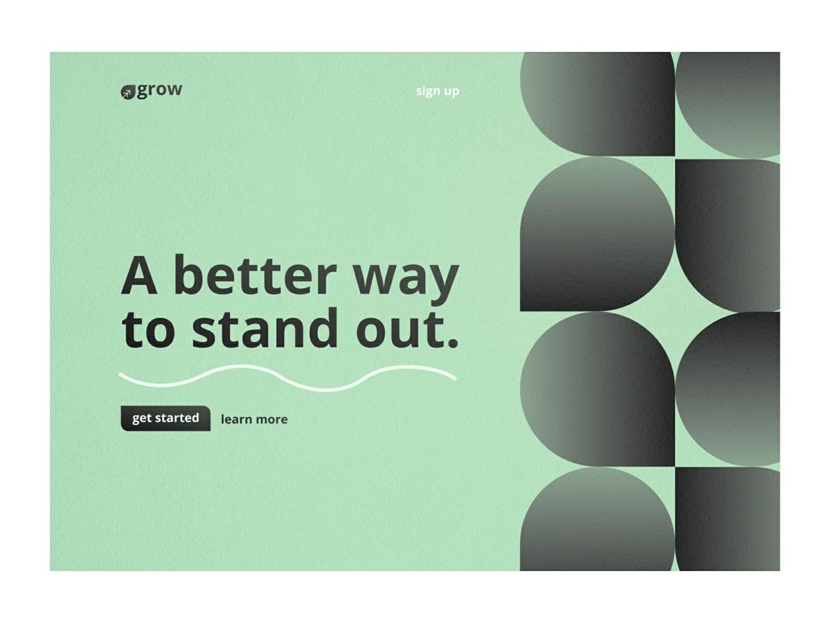 清新!精选12组绿色系网页设计