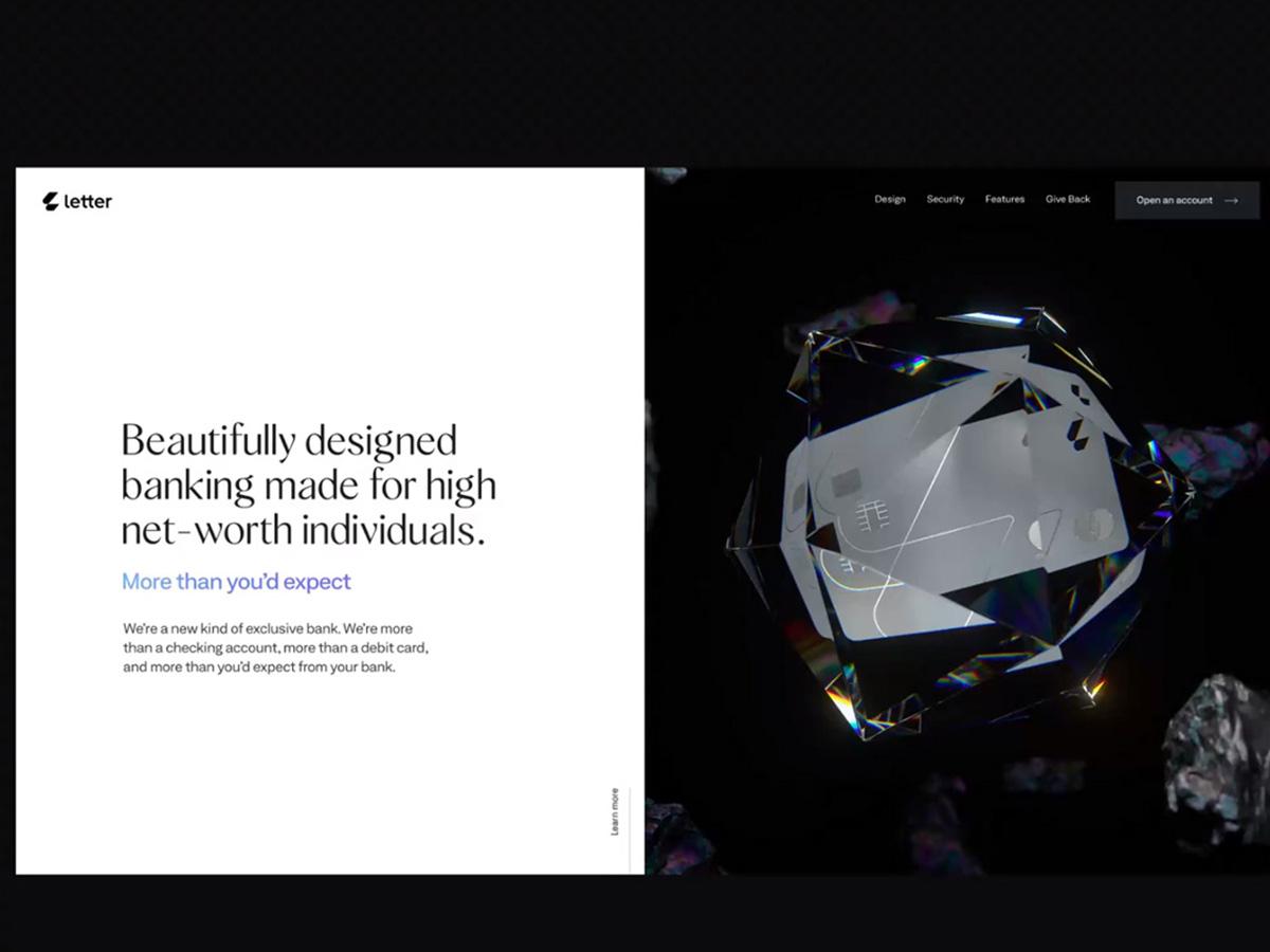 晶莹剔透!网页设计中的玻璃材质的应用~
