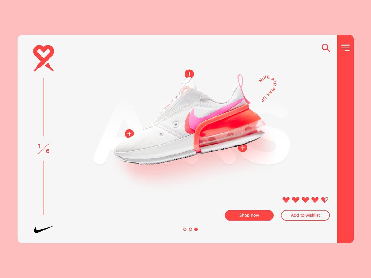 少女心!12组粉色系网页设计