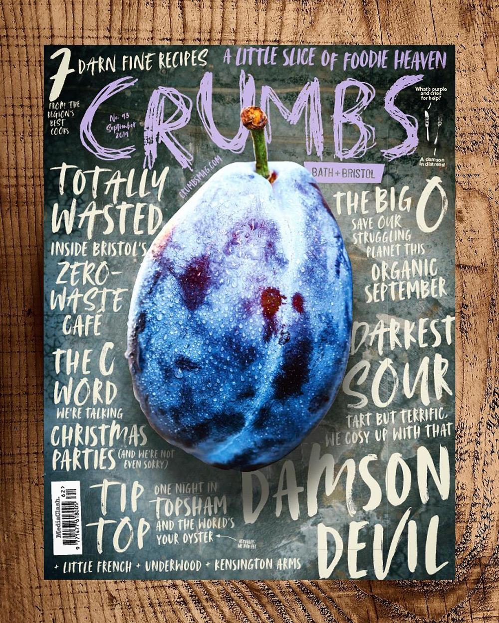 美食杂志《CRUMBS》封面设计