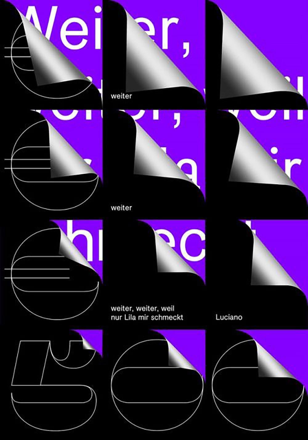 视觉表现力!12张英文主题海报设计