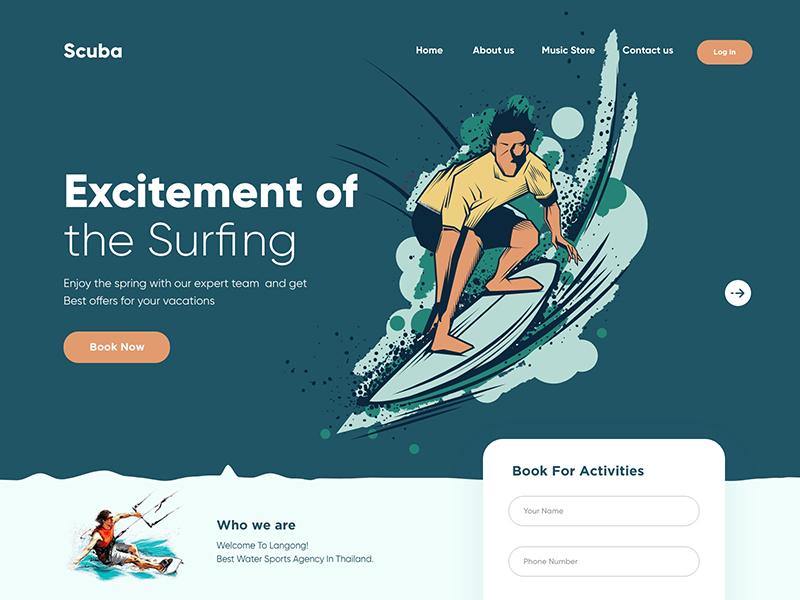 12张插画在网页设计中的应用