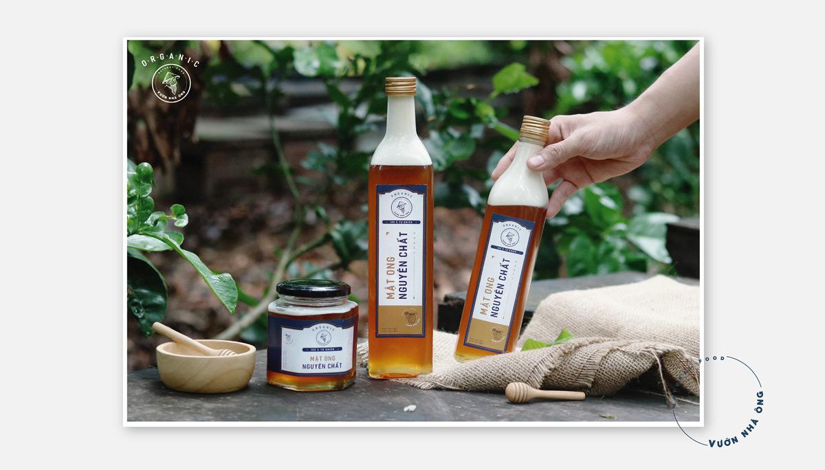 天然有机!蜂蜜包装设计