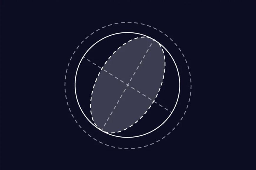 AI教程!教你绘制超炫酷渐变星球插画!