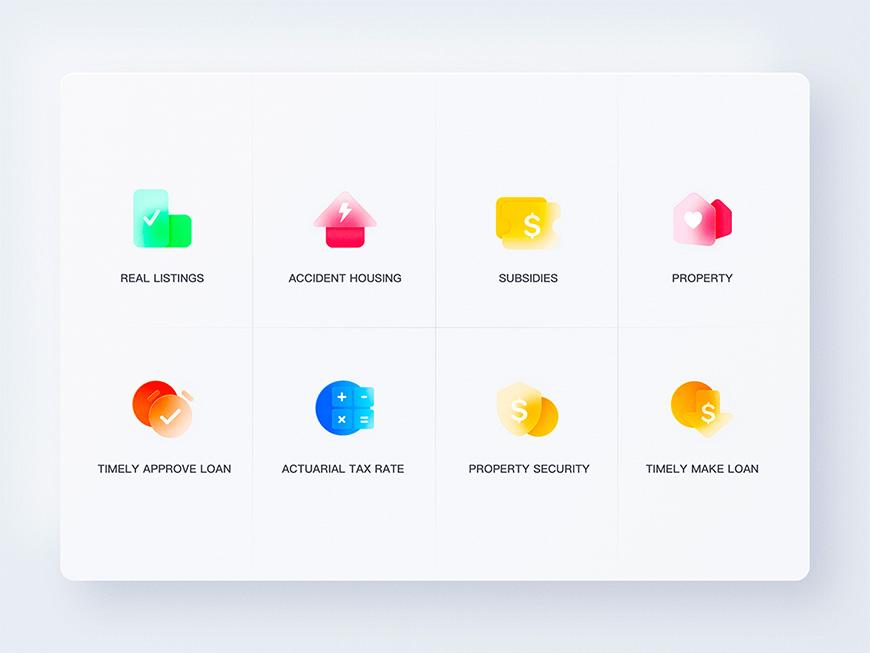设计思路教程!毛玻璃拟态图标临摹思路与原创技巧 (含Sketch源文件下载)
