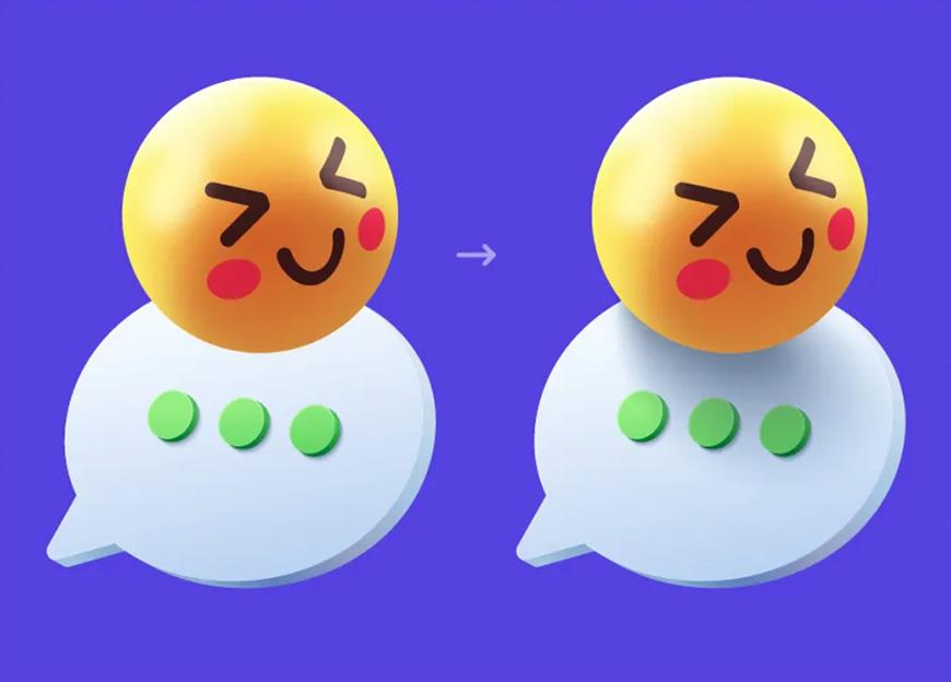 AI教程!教你3步搞定立体表情包!