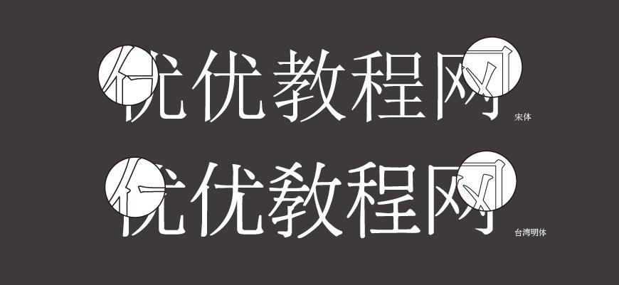 免费字体下载!一款古朴大方美观的中文字体—台湾明体
