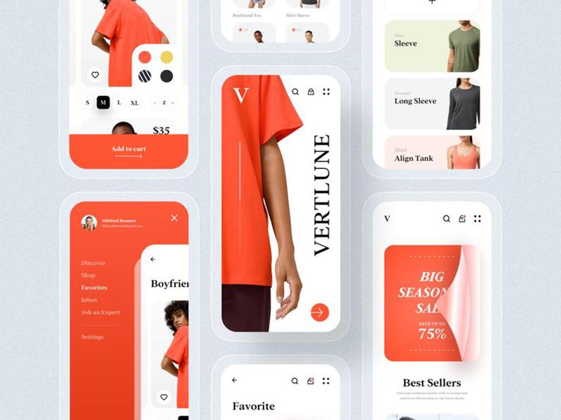 购物是最开心的!12组购物APP界面设计