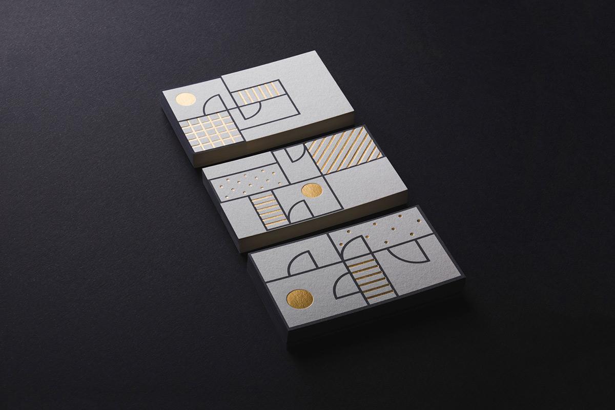 几何化!公寓空间出租品牌VI设计