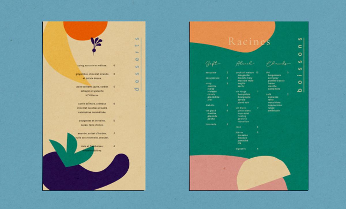 食物色彩!餐厅品牌VI设计