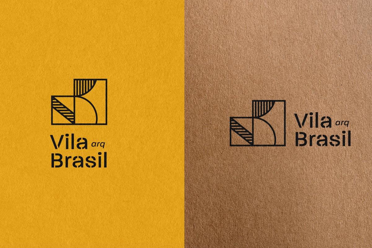 线条图案!建筑公司品牌VI设计