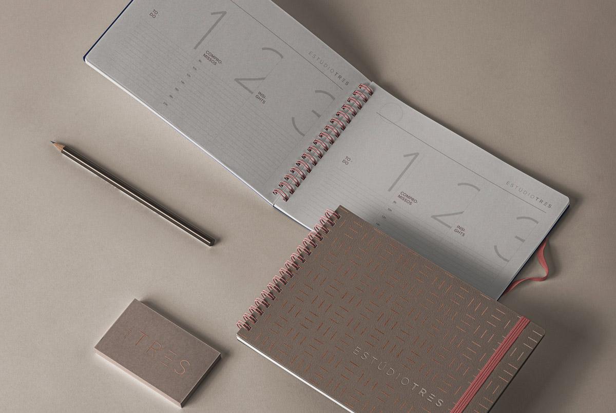 现代简约!建筑工作室品牌VI设计
