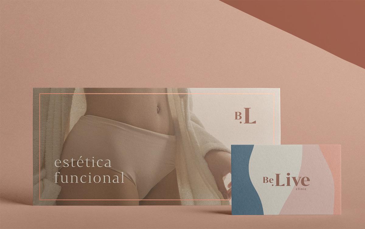 优雅简约!美容减肥机构品牌VI设计